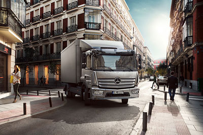 MANU AGAH for MERCEDES-BENZ ATEGO