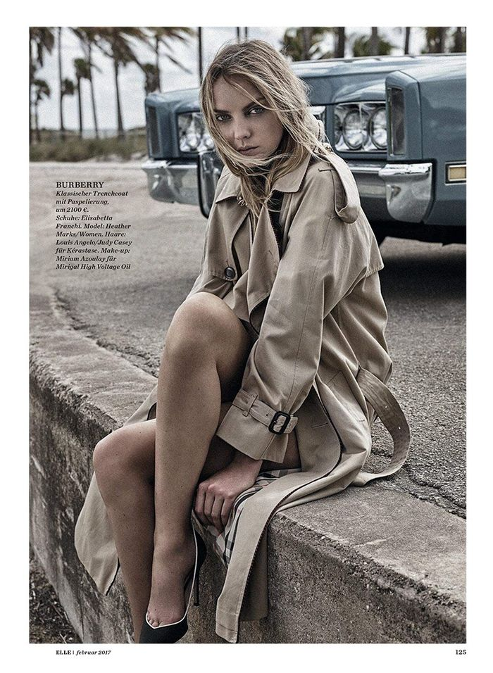 Heather Marks for Elle Germany