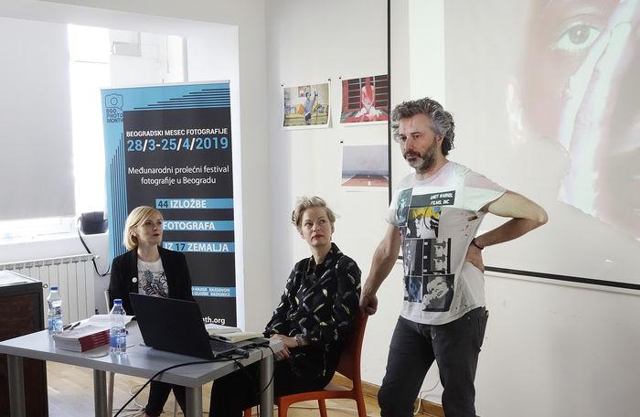 Marija Jovanovic & Susanne Junker with David Pujado
