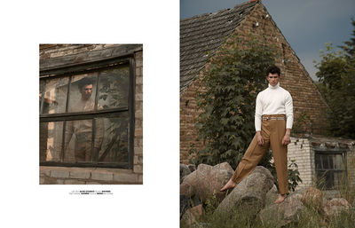 MMSCENE MAGAZINE EDITORIAL `BEYOND THE TREE` FOTOGRAFIERT VON TOBIAS WIRTH C/O TOBIAS BOSCH FOTOMANAGEMENT