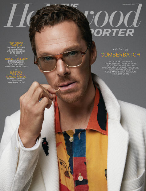 NM PRODUCTIONS: Benedict Cumberbatch for The Hollywood Reporter