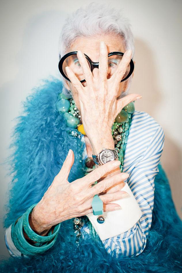Iris Apfel: 'Stil ist keine Frage des Alters' / Midas Collection