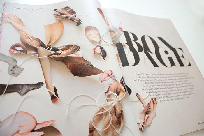 Straight Magazine #1, Illustration