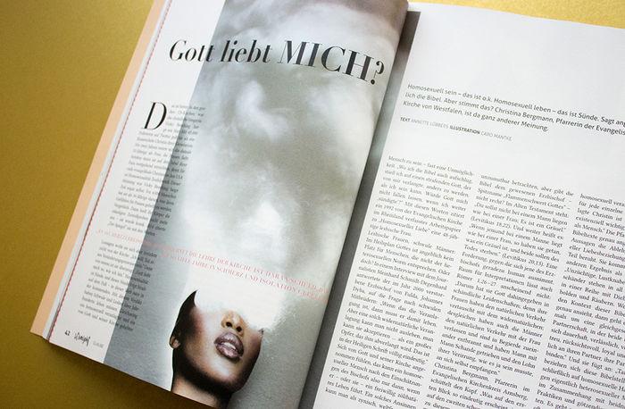 Straight Magazine #3, Illustration