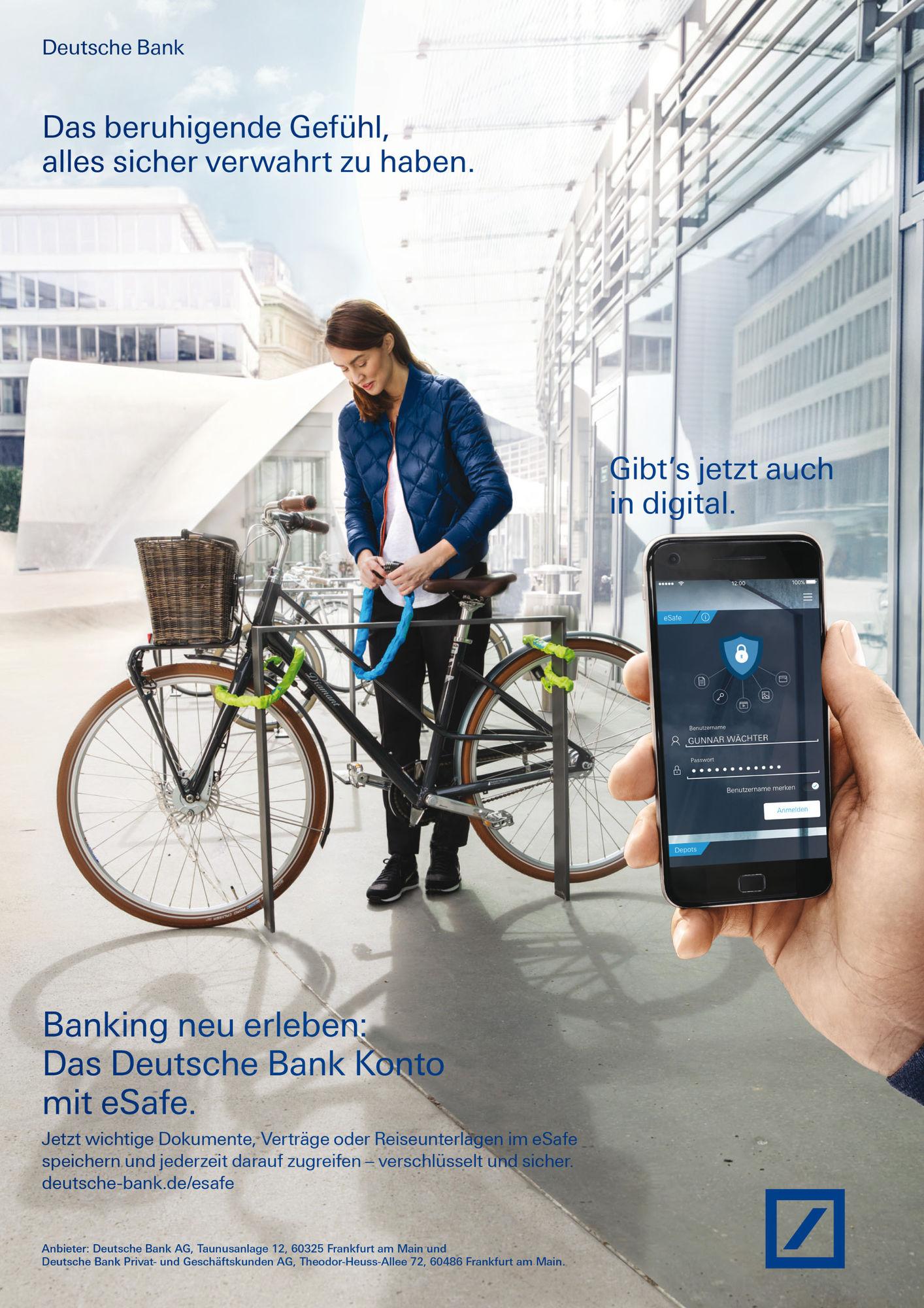 DOMINIK MENTZOS for Deutsche Bank