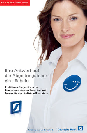 TOBIAS BOSCH for DEUTSCHE BANK