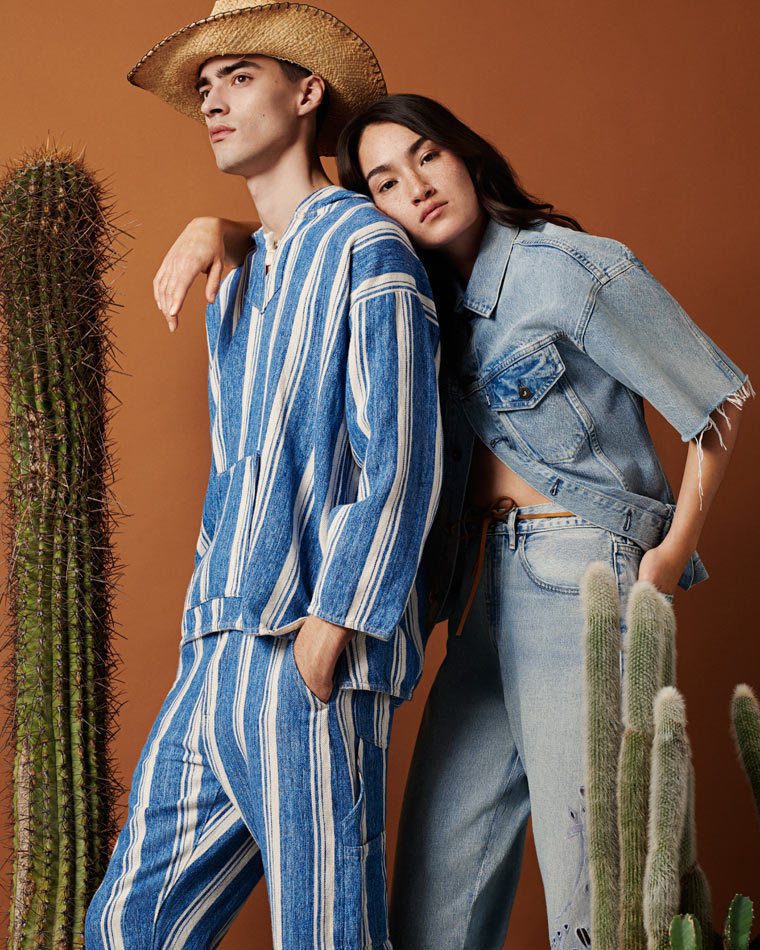 Levi's Made & Crafted collection styled by SOPHIA SCHWAN c/o KLAUS STIEGEMEYER