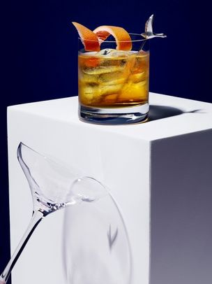 DARLING CREATIVE: MATTHEW SHAVE GREY GOOSE for VANITY FAIR