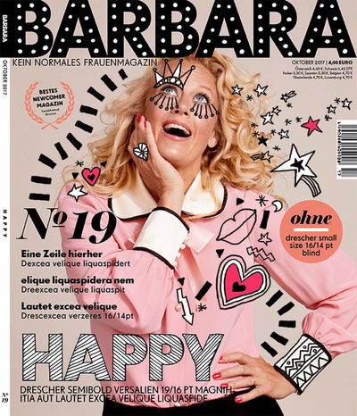 Inke Ehmsen für Barbara-Cover