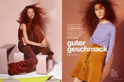 SIGI KUMPFMÜLLER (hair & make up) for JOLIE