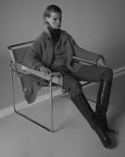 ANDREAS ORTNER:  Actor NORMAN WATKINS for WINDSOR FW 2020