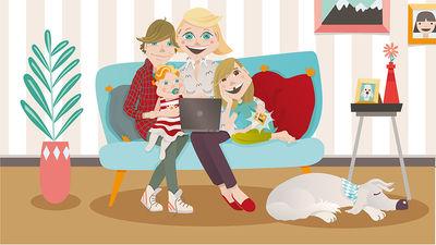 Annika Metze / Familie Raiff