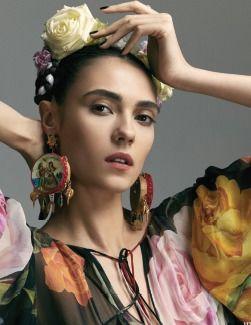 Make Up von Desmond von Staden für HIA Magazine May 2017 FRIDA editorial