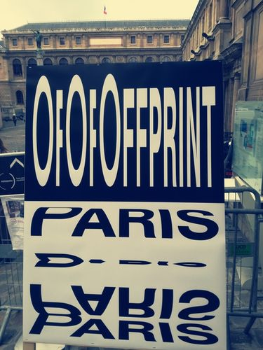 OFFPRINT PARIS, 9–12 November 2017, Beaux-Arts de Paris