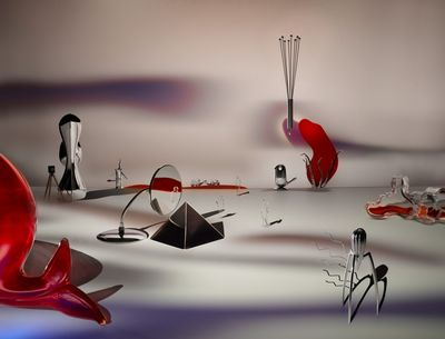 TOM SEELBACH - Hommage Yves Tanguy