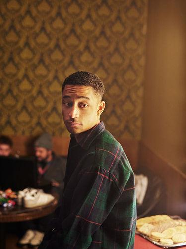 Matthias Wehofsky fotografiert Loyle Carner für das Mixmag UK