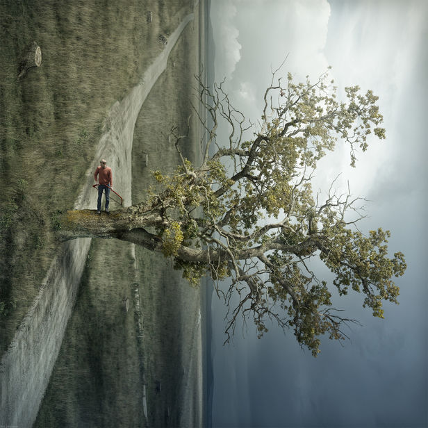 'We Saw' by Erik Johansson c/o AGENT MOLLY & CO