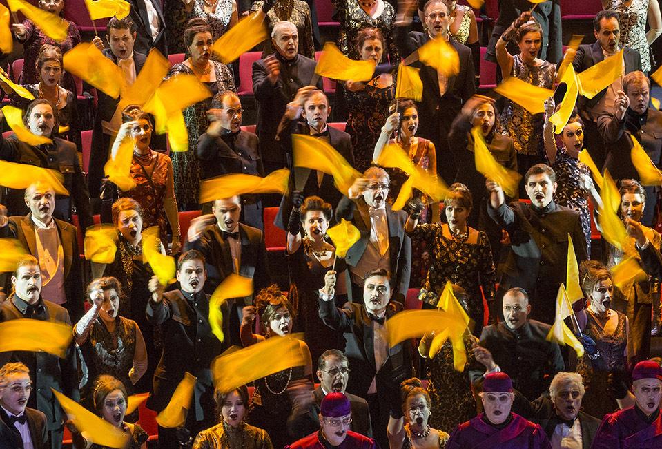 "EDITION LAMMERHUBER presents ""CHORUS – Wiener Staatsoper"""