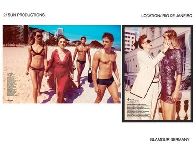 21 SUN PRODUCTIONS for GLAMOUR GERMANY