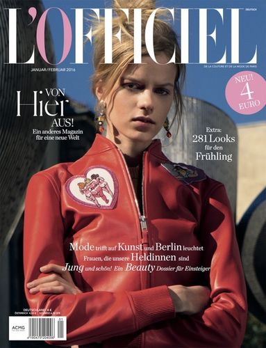 BLOSSOM MANAGEMENT: Tony Lundström (Hair) for the first issue of German L'Officiel
