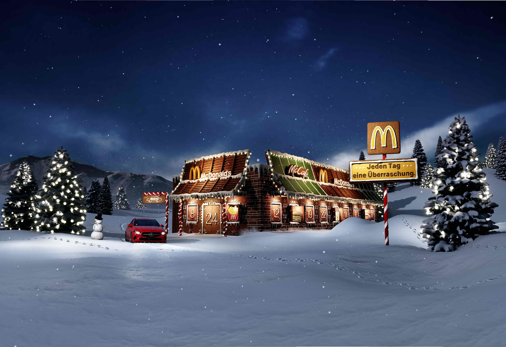 FRIENDLY FIRE creates Christmas campaign for McDonald´s Austria
