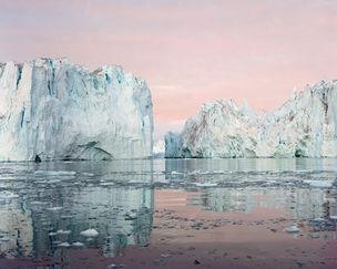 ALFRED-ERHARDT-STIFTUNG : Olaf Otto BECKER *northbound – Greenland 2003-2006* Ilulissat  Icefjord 09, 69° 11' 50'' N, 51° 12' 54'' W,  Juli 2003