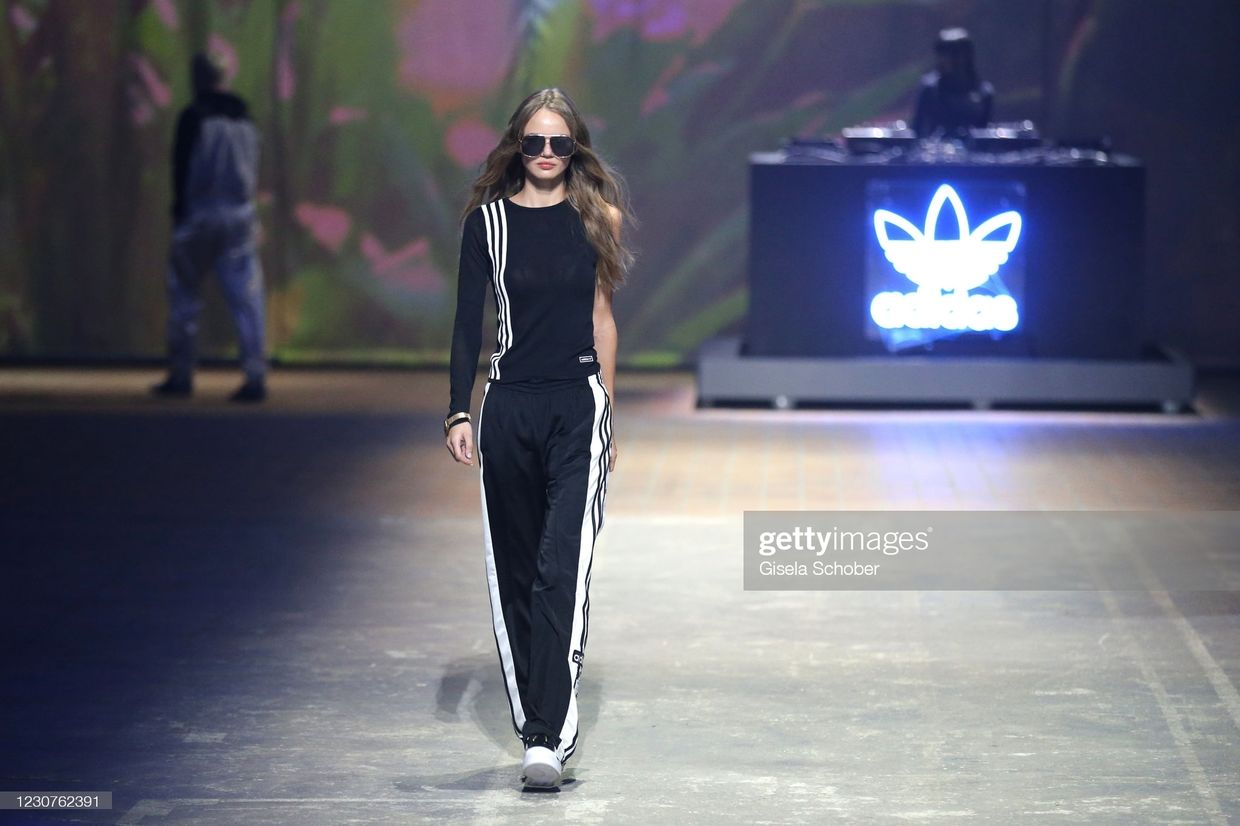 Berlin Based Diana Moroz for About You x Adidas MBFW Berlin 2021 ICONIC