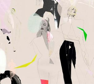 Gallery Hanahou presents Fashion Illustration: Visual Poetry