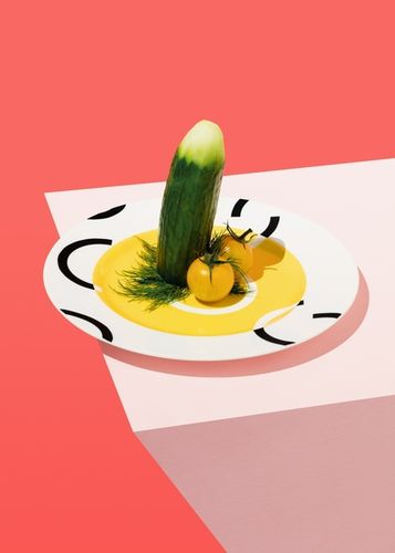 COSMOPOLA | Veggie Dicks by ILKA & FRANZ for guardianweekend