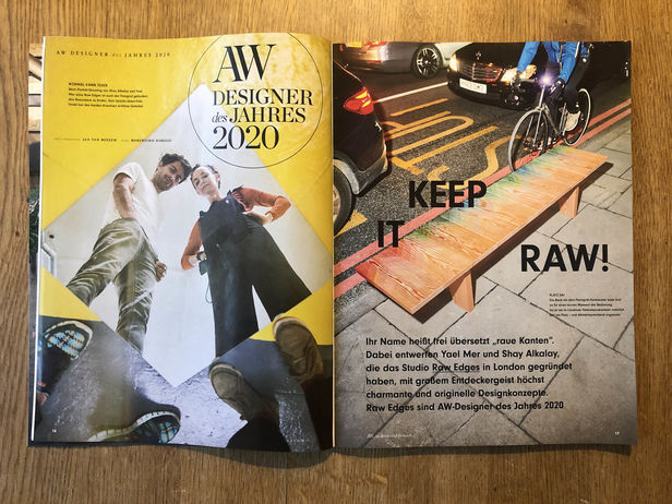 ROBERTINO NIKOLIC - RAW EDGES | CLIENT - A&W MAGAZIN | REPRESENTED BY BANRAP GMBH