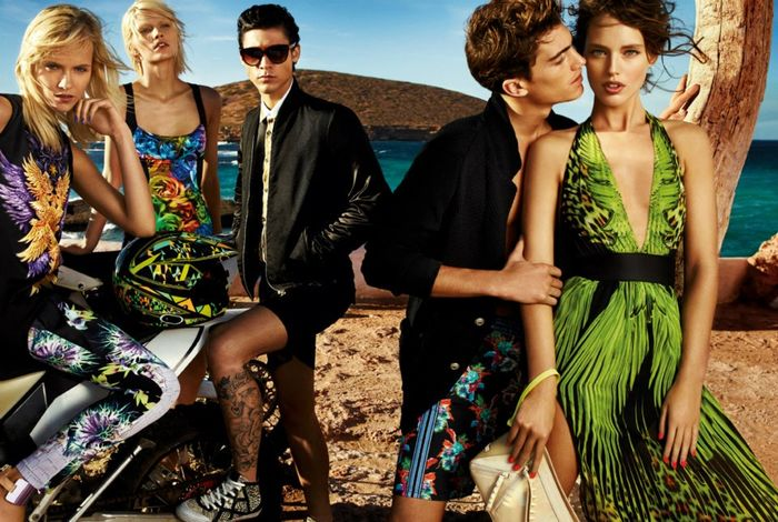 GIAMPAOLO SGURA for JUST CAVALLI SS 2013