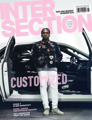 PUSHA T FOR INTERSECTION GERMANY BY ROBERT WUNSCH