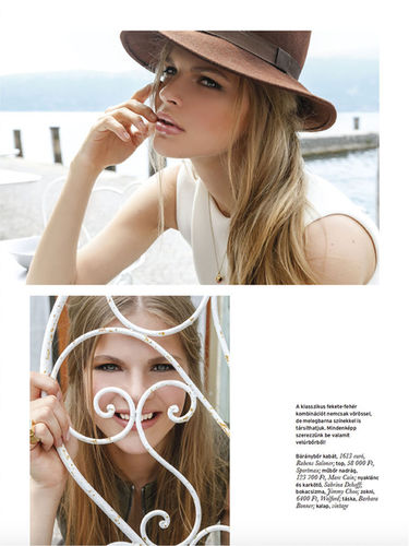 KATALIN KISS for ELLE