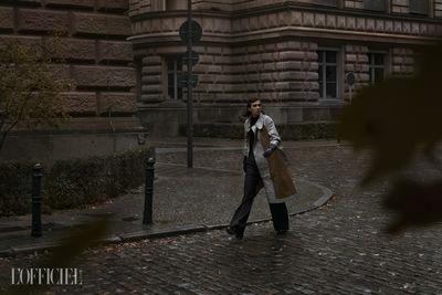 The game is afoot ! - a detective story by VIV & JÉ c/o ILLURE MANAGEMENT for L'OFFICIEL BALTIC