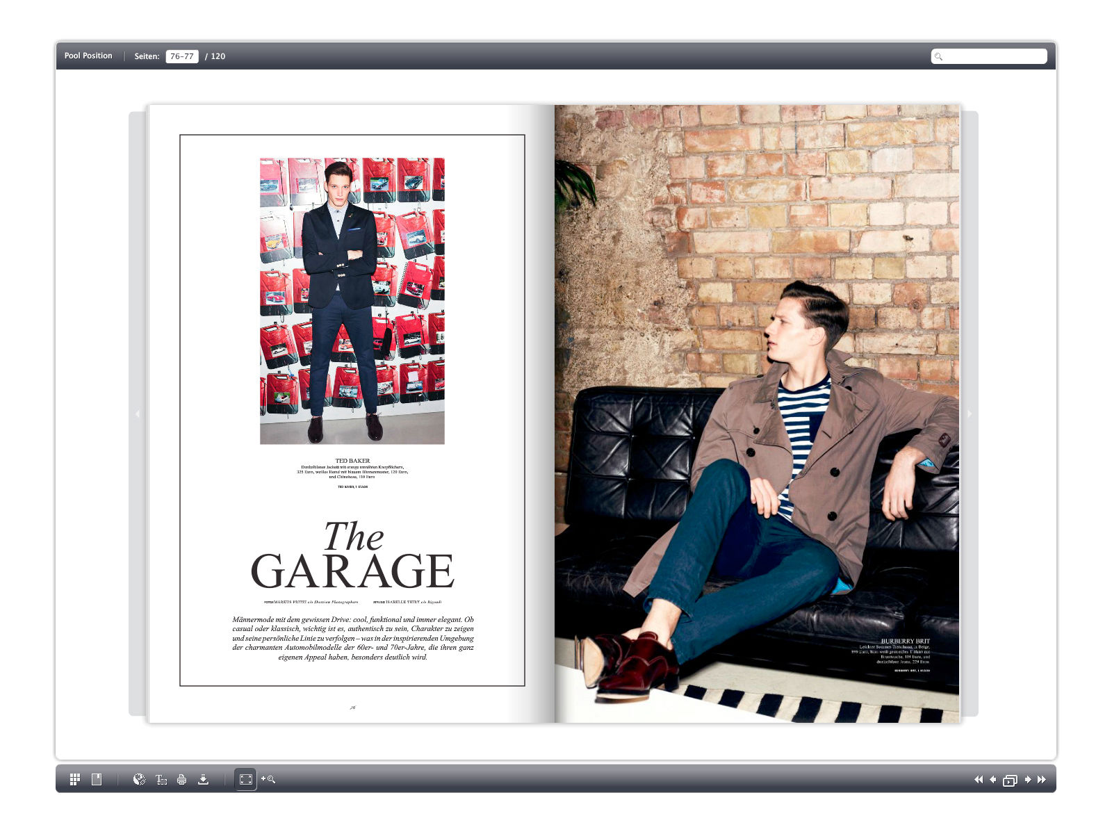 Gosee Px Group For Kadewe Magazine