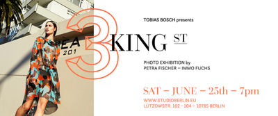 3 King Street Exhibition June 25th