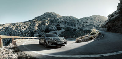 Renault Alpine A110s Produced by Continental Productions