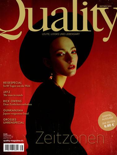 ELIZAVETA PORODINA for QUALITY MAGAZINE