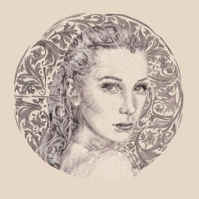 COSMOPOLA | Marie de Beaucourt portrait of Bella Hadid