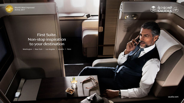 EMEIS DEUBEL: Peter Funch for SAUDIA Air