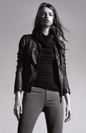 MUNICH MODELS : Julia SANER for ARMANI  JEANS FALL 2011