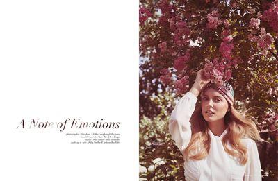 STEPHAN GLATHE - 'A Note Of Emotion' for LIVID Magazine NYC