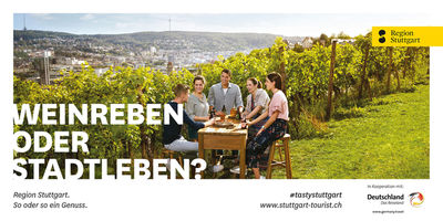 JEAN-CLAUDE WINKLER with Panama Werbeagentur for Region Stuttgart Tourismus