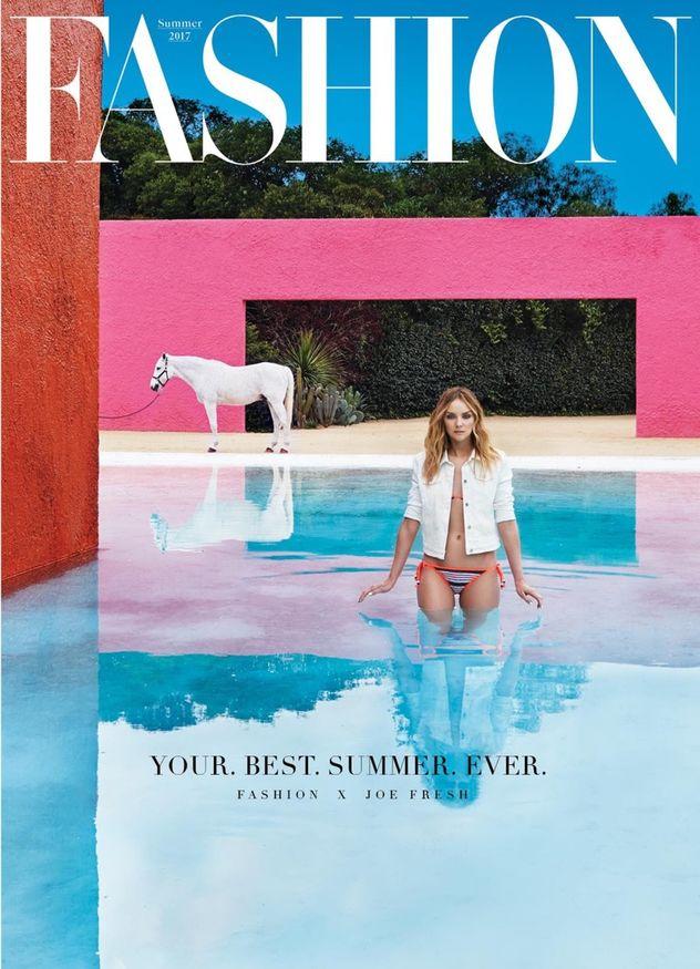 Heather Marks for Fashion Magazine Canada shot by Javier Lovera
