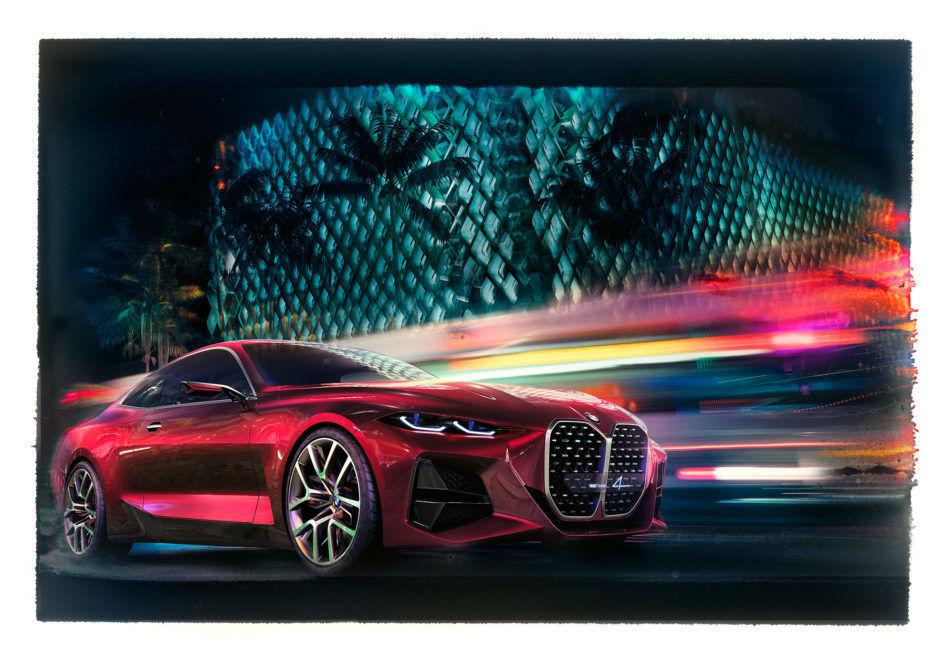 BMW Concept 4 by Julia Obermeier & Ralph Mecke