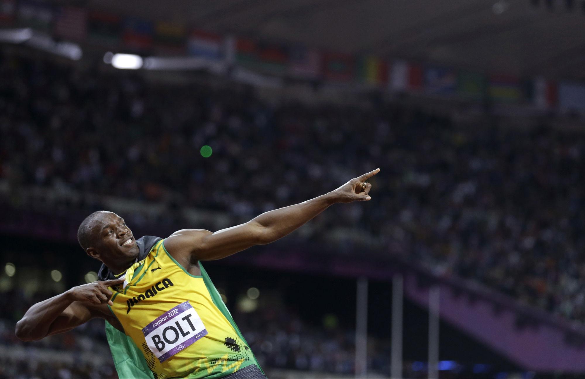 GOSEE ART: Usain Bolt, Olympische Sommerspiele, London,  5. August 2012 © Anja Niedringhaus/AP