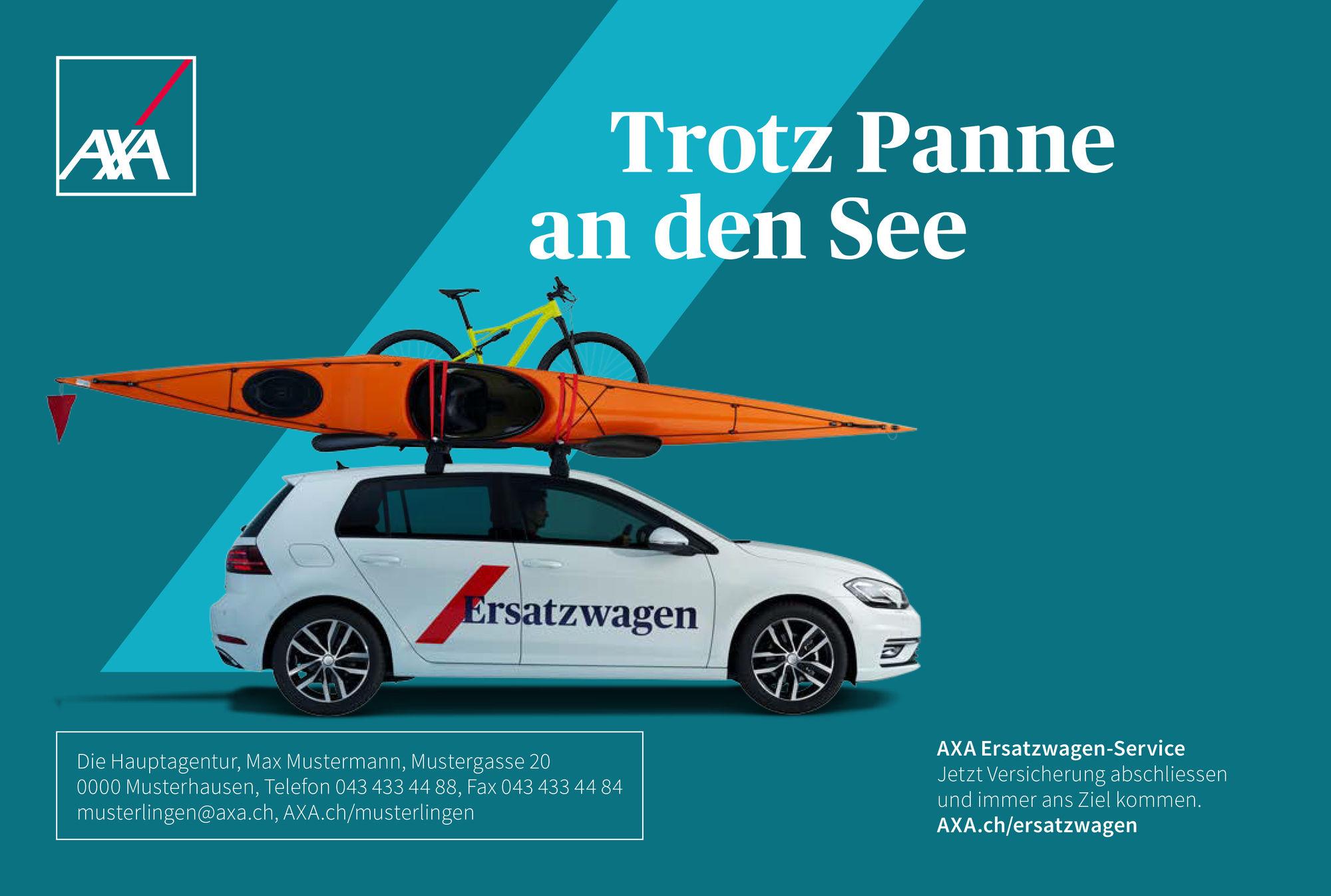 SEVERIN WENDELER: Sebastien Staub c/o Severin Wendeler for AXA