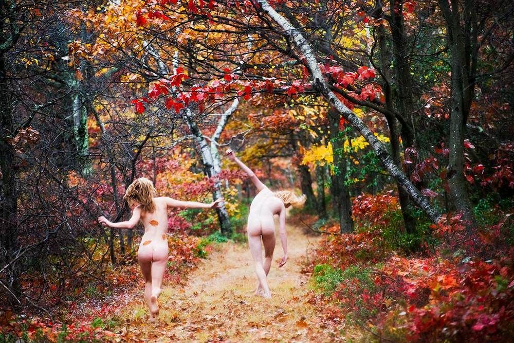 'Fall' by Ryan McGinley at TEAM GALLERY