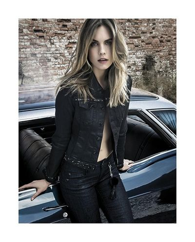 JULIJA STEP for FRACOMINA JEANS FW17 CAMPAIGN/ TFM MODELS OSLO