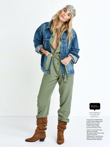 ASA TALLGARD : for ELLE NORWAY with CAMILLA PIHL styled by  PETRA MIDDELTHON